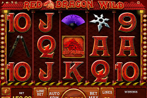 Maquinas tragamonedas Red Dragon Wild